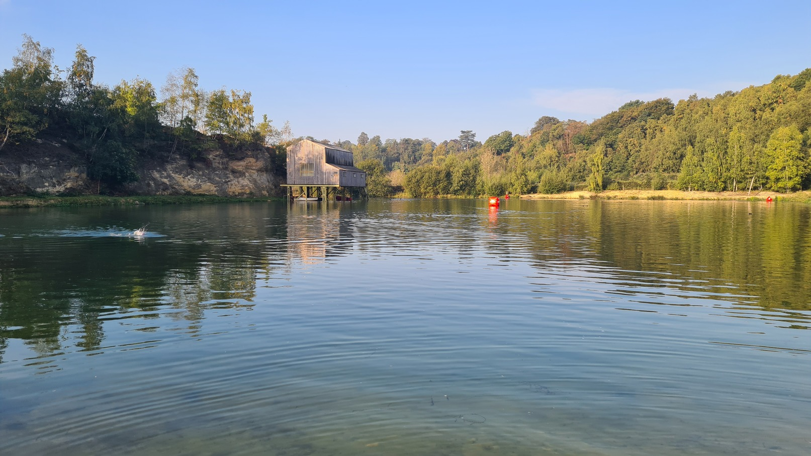 Dorking Quarry Swim
