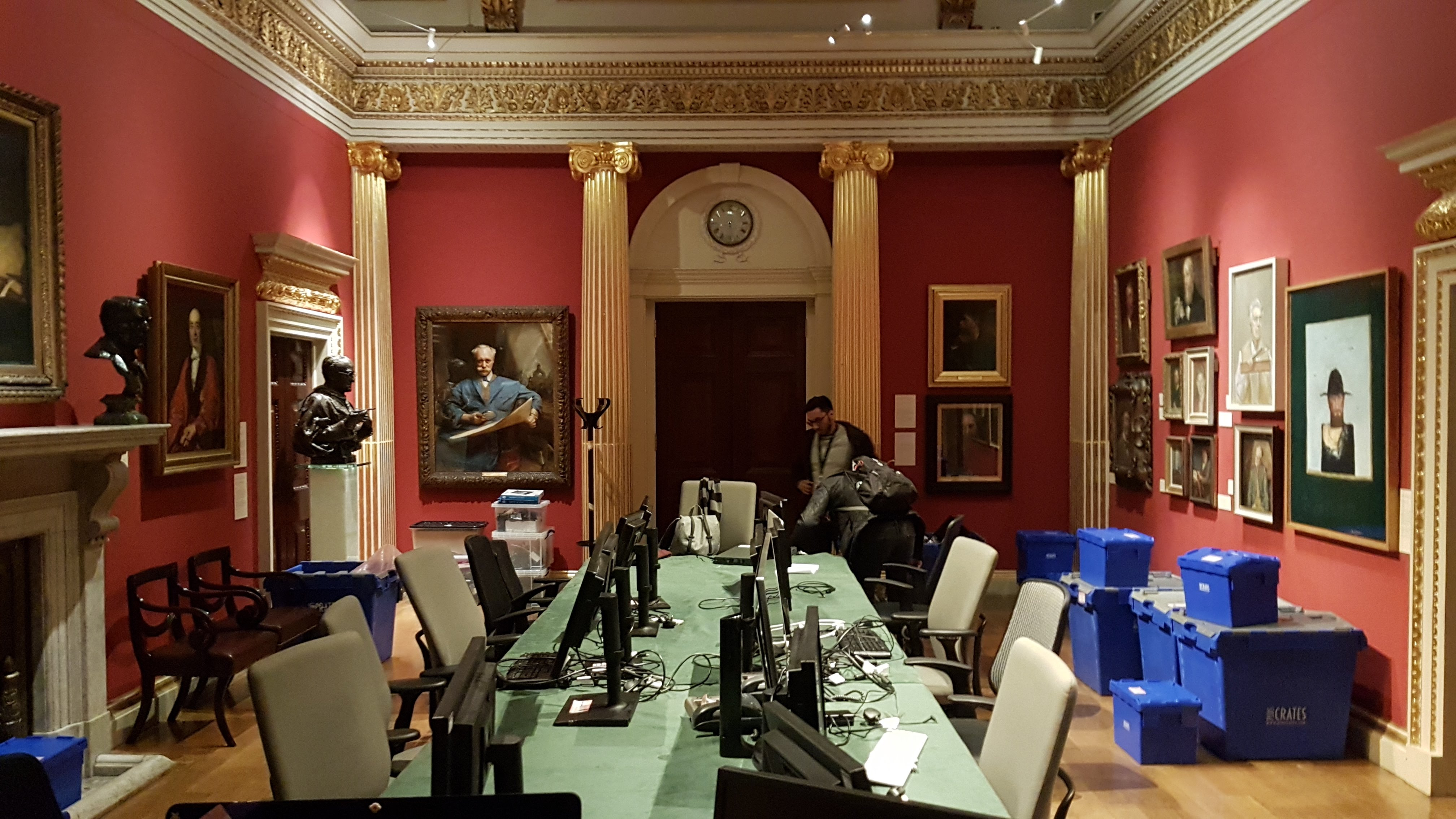 general assembly room at the RA